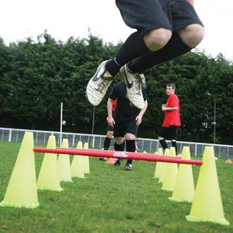 Diamond Football Agility Cone Ladder Set