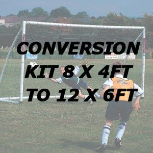 Samba 8 x 4 to 12 x 6 Goal Conversion Kit