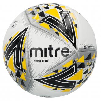 Mitre Delta Plus Pro Football Ball - White