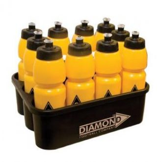 Diamond Football Carrier and Bottles