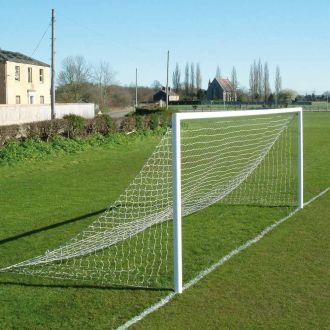 JUNIOR SIZED FOOTBALL GOAL NETS 21 X 7FT - FLAT RUNBACK