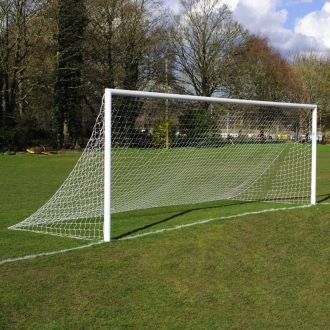 MH 21ft x 7ft Quick Release Aluminium Football Goal Package - Pair