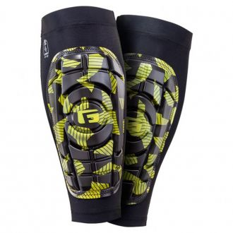 G-FORM YOUTH PRO-S COMPACT NEON SHIN GUARDS