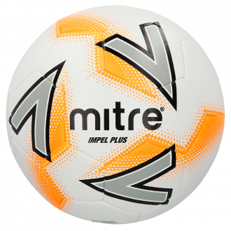 Mitre Impel Plus Football - White/Orange