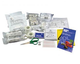 Refill pack for Koolpak Team First Aid Kit