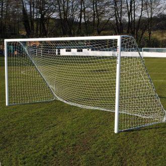 MH 16 x 7 Aluminium Garden Football Goal