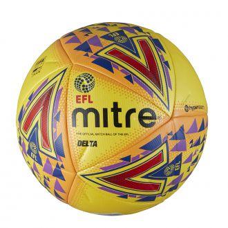 Mitre Delta EFL Professional Match Ball - Yellow