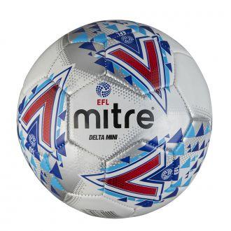 Mitre Delta EFL Mini Training Ball - White