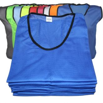 Set of 10 Football Bibs - All Colours