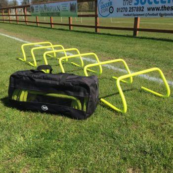 Bag of 9 inch hurdles