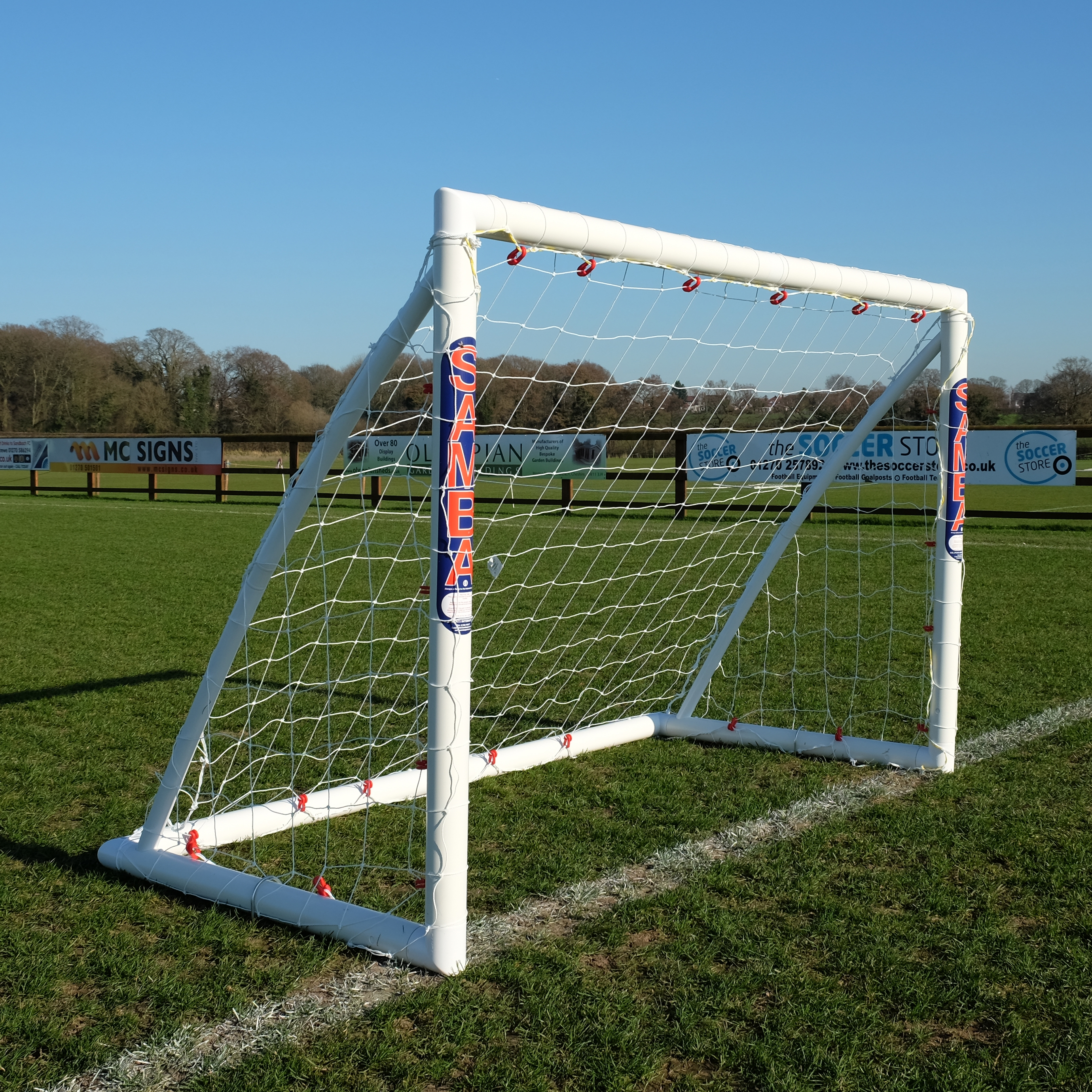 009abfaa Samba 6ft x 4ft Football Goal - Locking Model